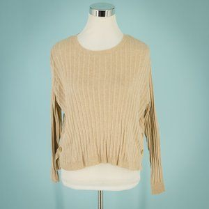 Cotton Emporium Nordstrom XS Ribbed Sweater NWT